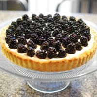 Blackberry Mascarpone Tart