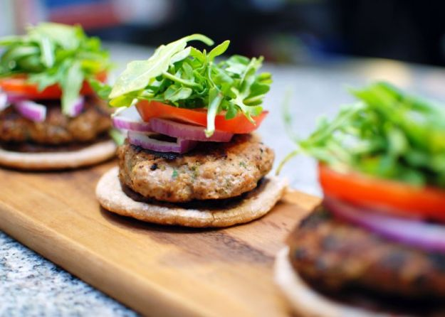 Topless Turkey Burgers