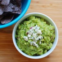 Gary's Blue Cheese Guacamole